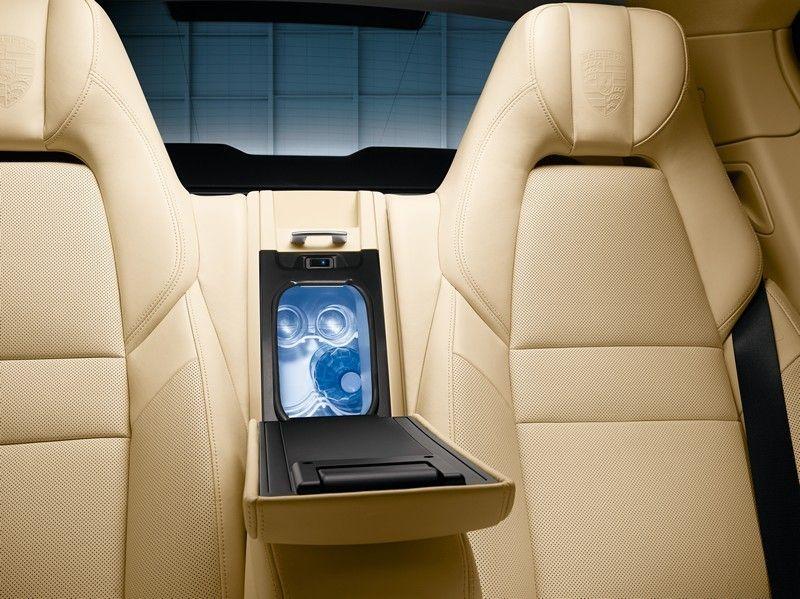Porsche Panamera Rear Seat Cooling Compartment #awesome #porsche ...