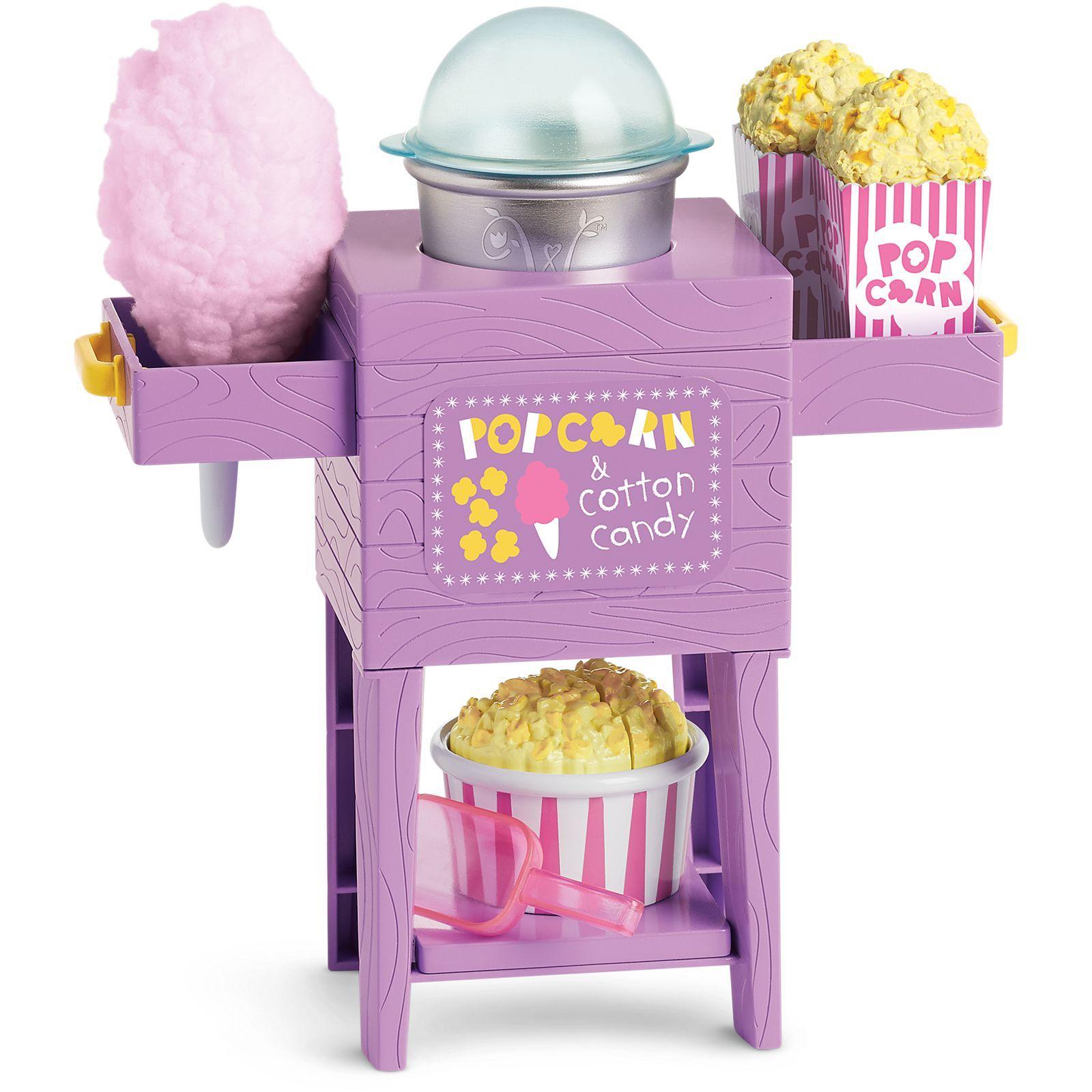 Popcorn u cotton candy cart american girl life american girl