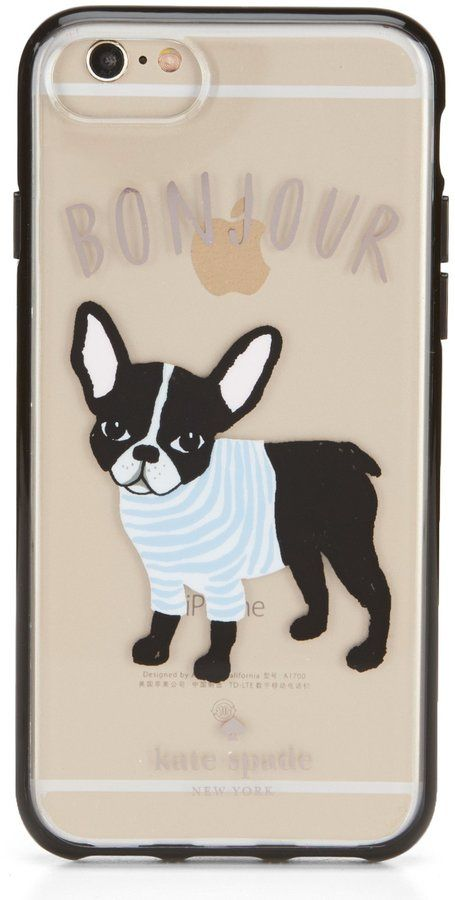 low priced 5cf3a 2e20a Kate Spade Bonjour French Bulldog iPhone 7/8 Case | Products | Kate ...