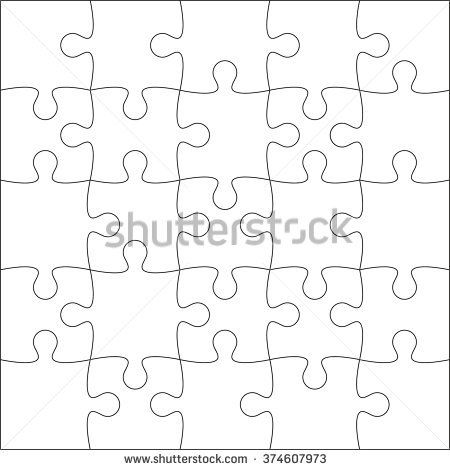 Found on Google from shutterstock alphabet number tracing - blank puzzle template