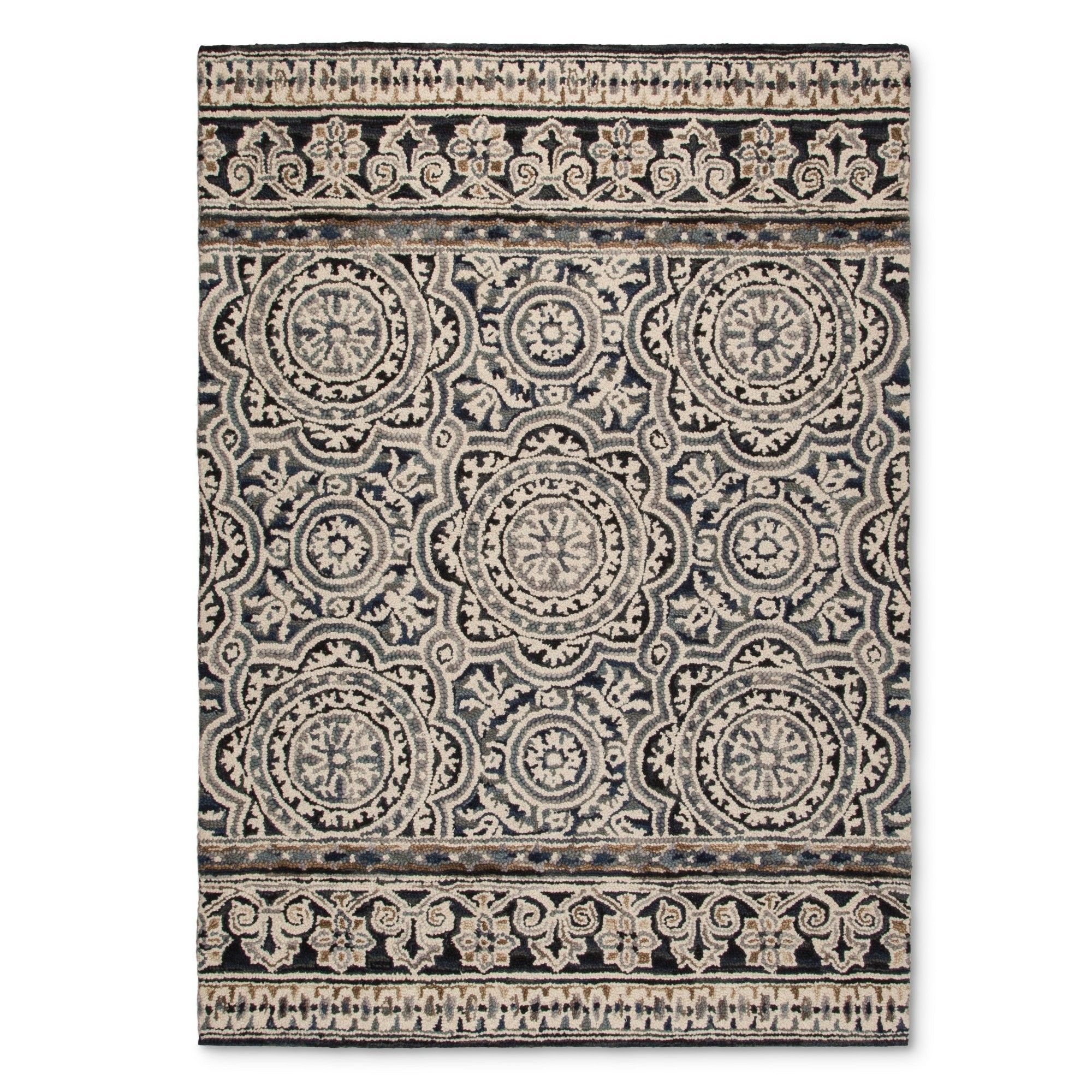 Belfast Area Rug Indigo Blue 7 X10 Threshold
