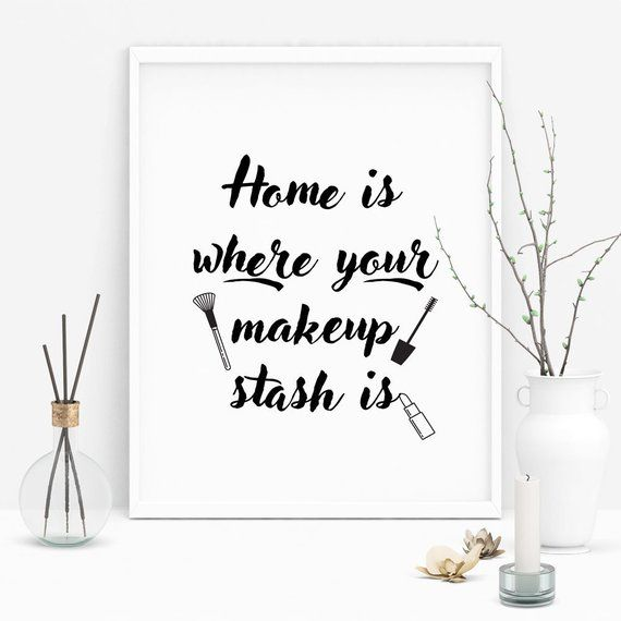Quotes About Makeup Makeup Artist Gift Digital Download Etsy Cosmetics Quotes Makeup Quotes Makeup Artist Quotes