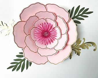 pdf paper flowers petal 3 templates 3d and diy paper flower for