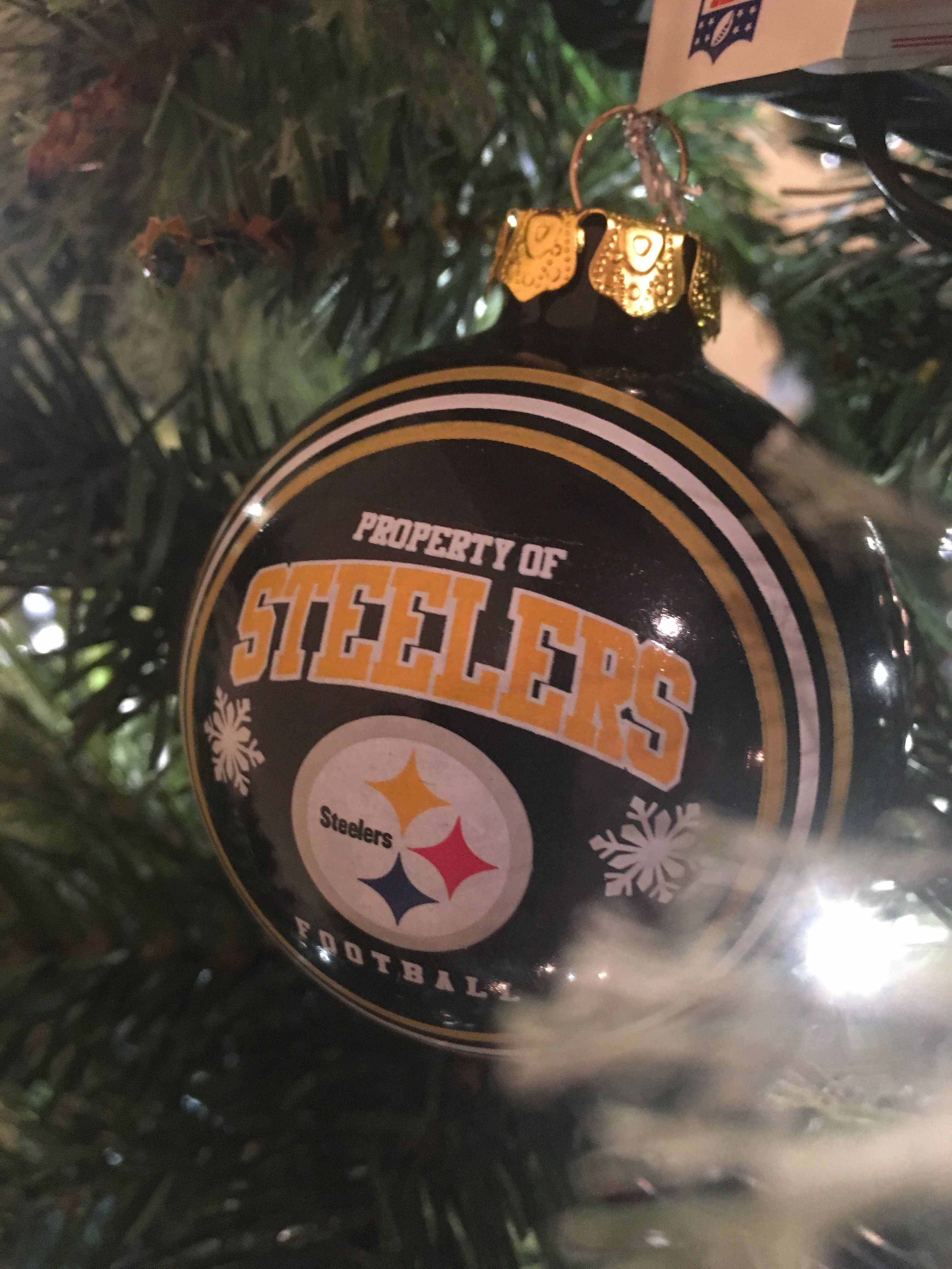 Steelers Christmas Ornaments.Pittsburgh Steelers Christmas Ornament Christmas Tree