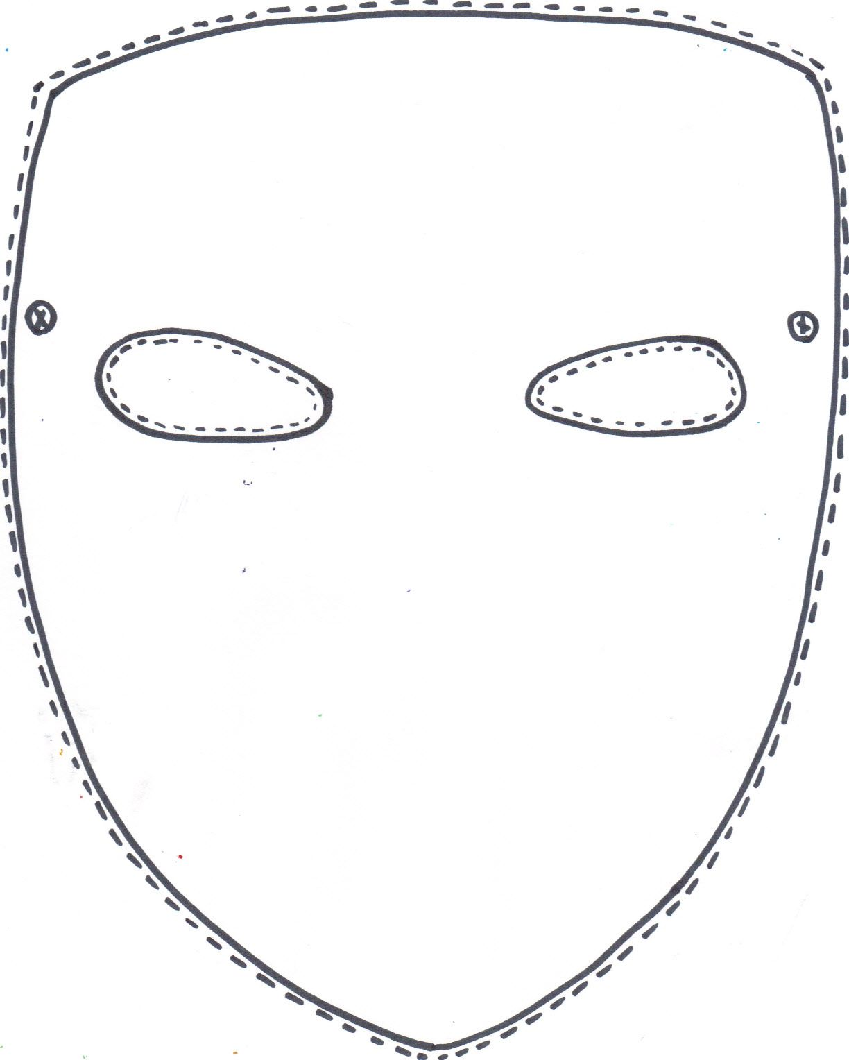 Mask Template In 2020 Mask Template Printable Mask Template Blank Mask