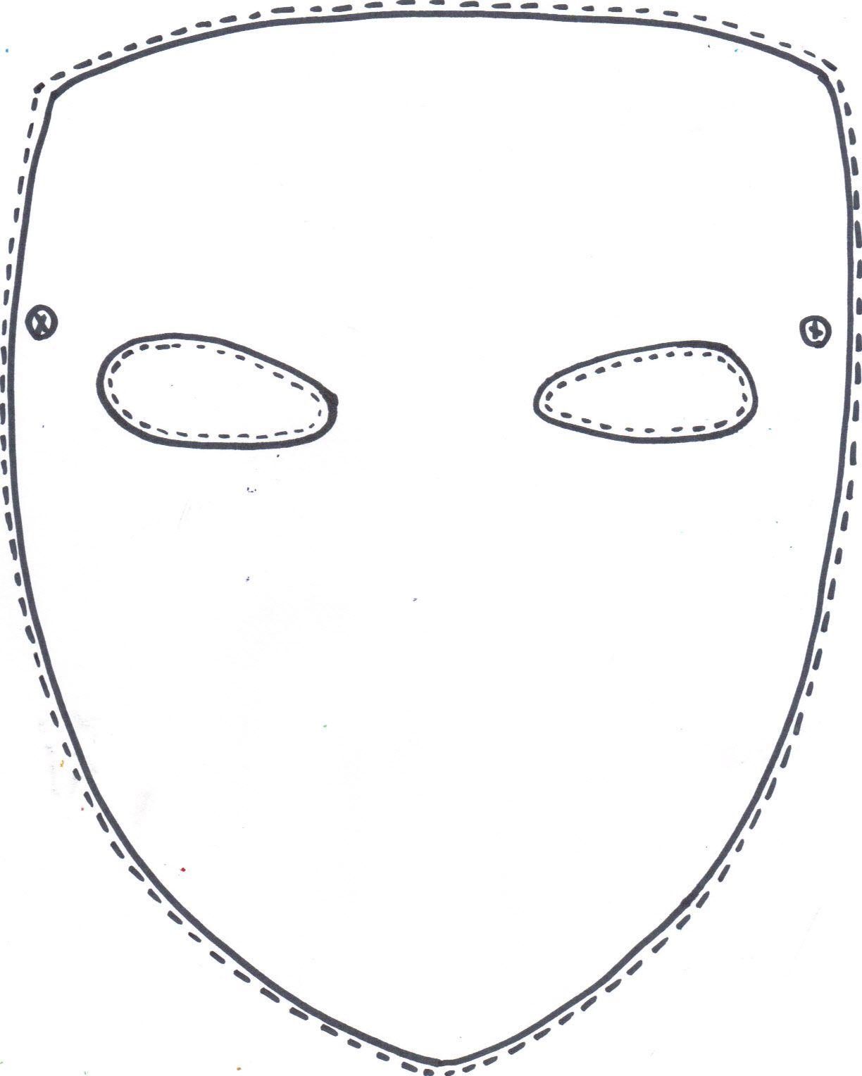Mask Template Mask Template Printable Printable Masks Mask Template