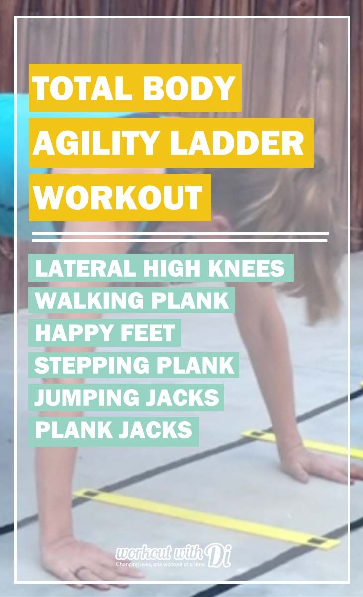 Agility Ladder Workout Routine Berry Blog