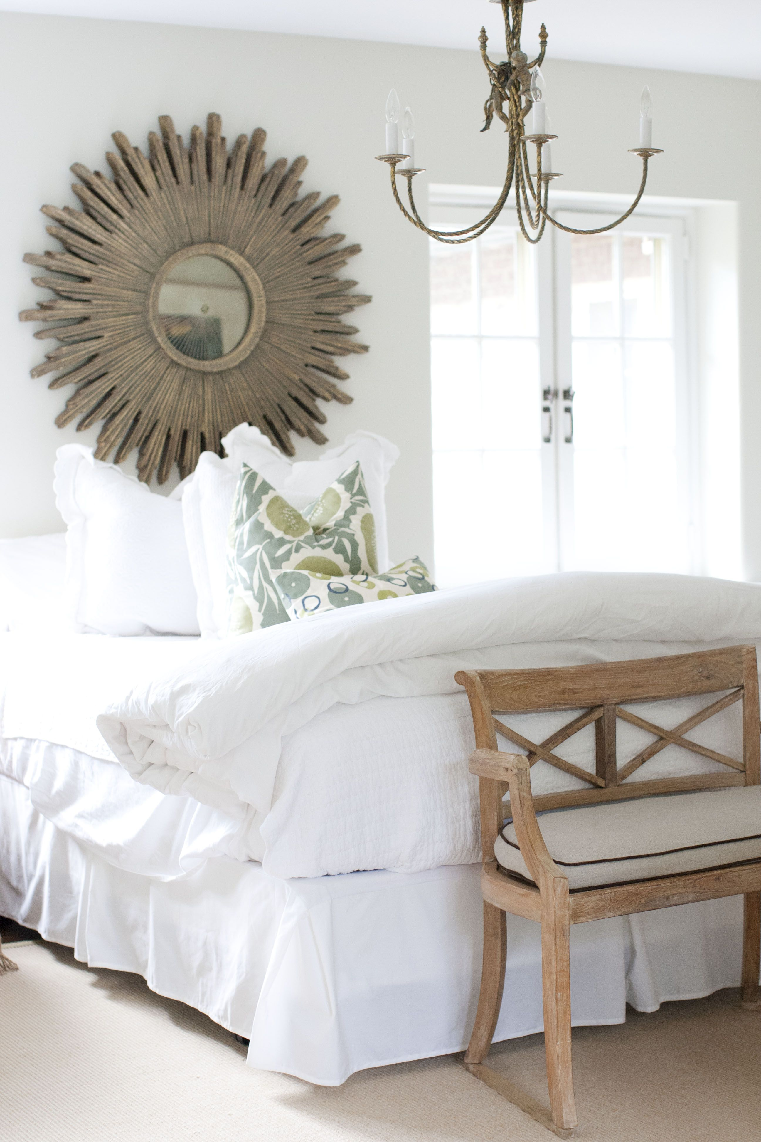 Bedroom Grays Lane Bench Mirror No Headboard Home Bedroom