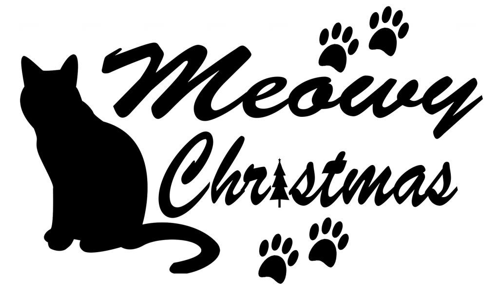 Download FREE Cat Christmas SVG File | Christmas svg, Christmas svg ...