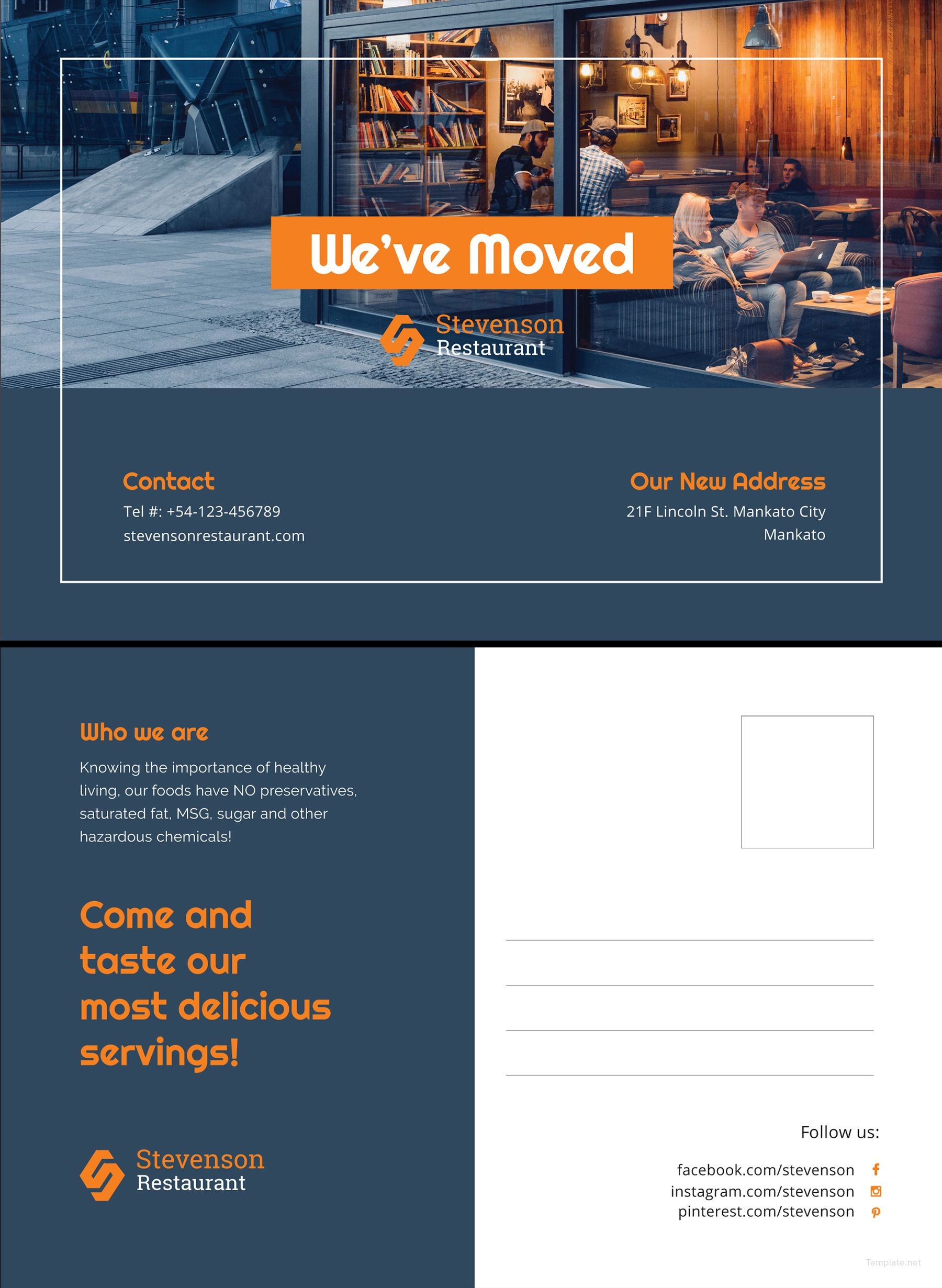 Download Business Moving Postcard Template for Free in Illustrator ...