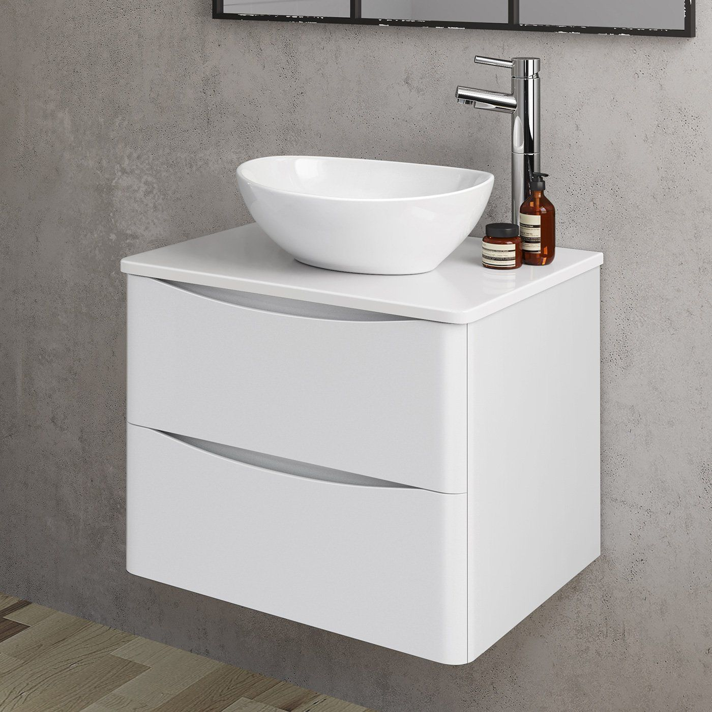 600mm bathroom furniture countertop vanity unit camila on replacement countertops for bathroom vanity id=19280