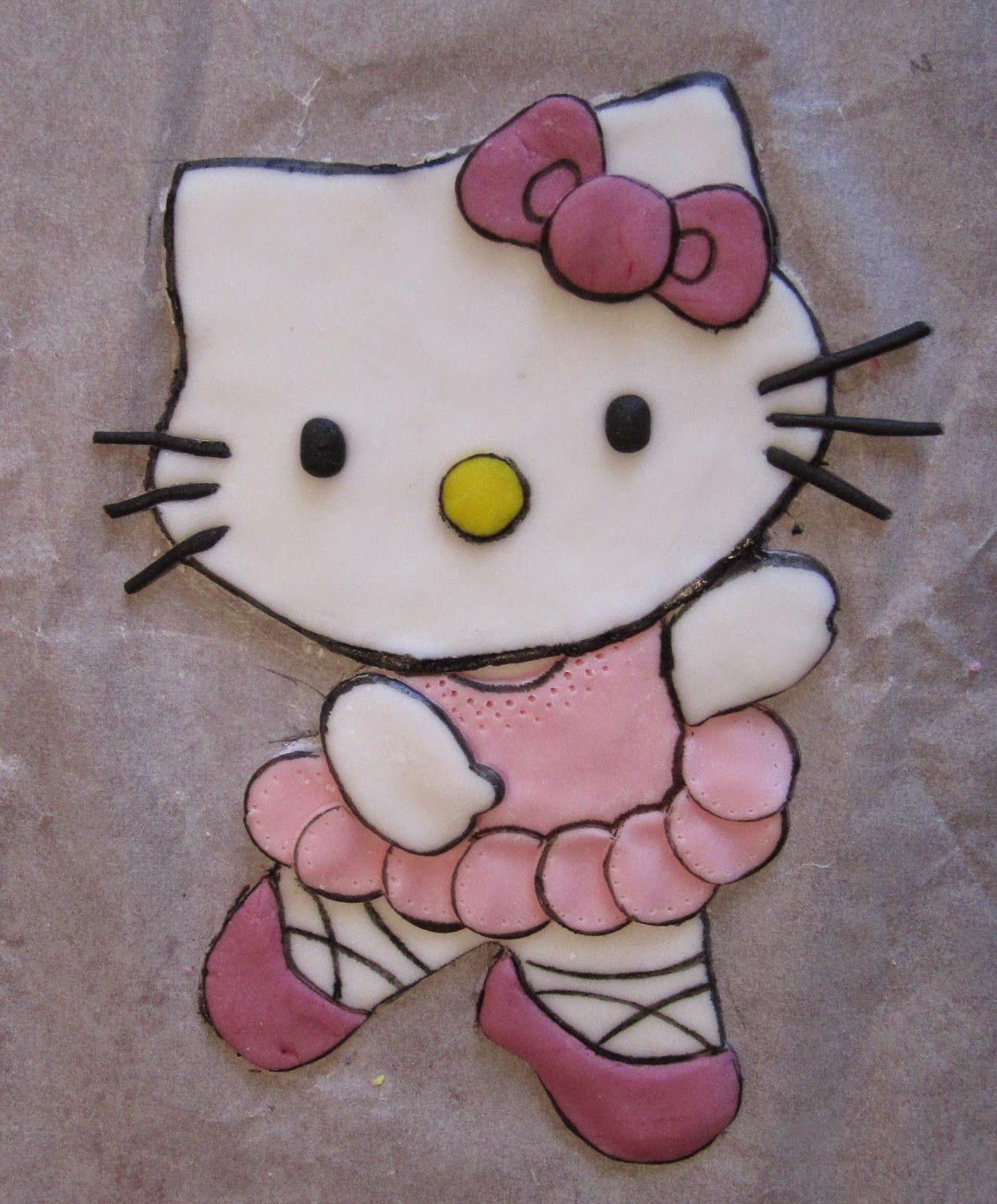 STELLEDILATTA: Deco-torta Hello Kitty