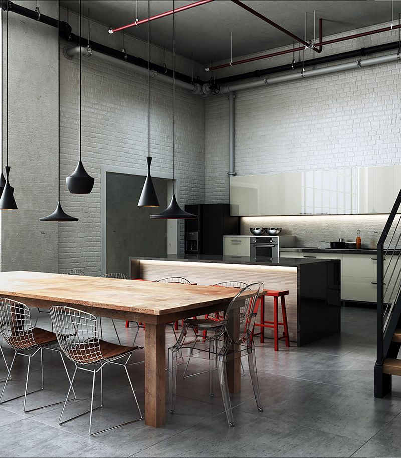 Arch viz specialist alberth costa da silva interview 3d - Vintage industrial interior design ...