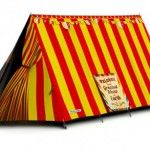 Amazing AND practical! Tent flycover, BIG TENT!