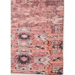 Photo of benuta Trends rug with print Jelle beige / pink 200×290 cm – vintage rug in used look benuta