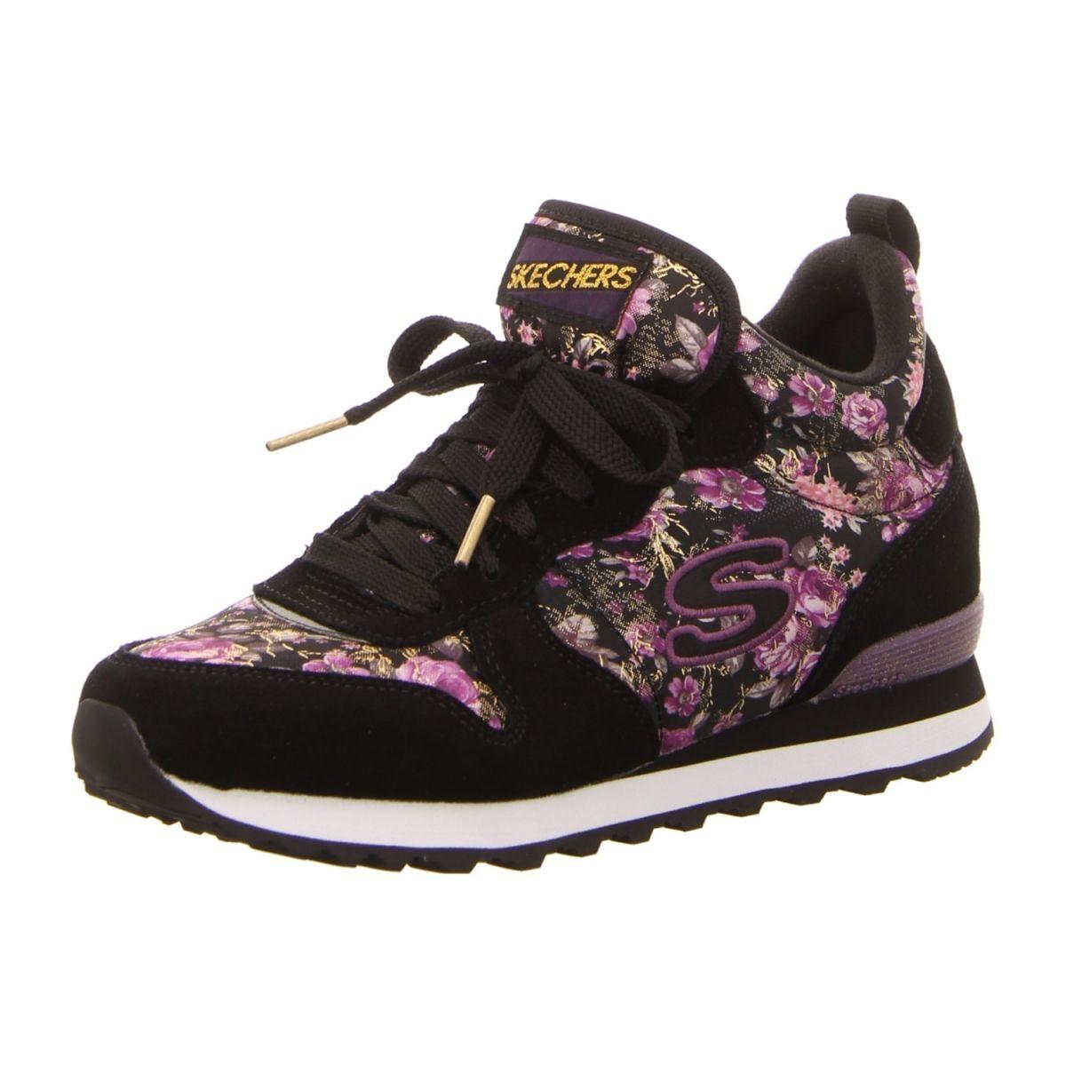 36584fd1db66 NEU  Skechers Sneaker OG85-HollywoodRose - 121 BKPR - black purple ...
