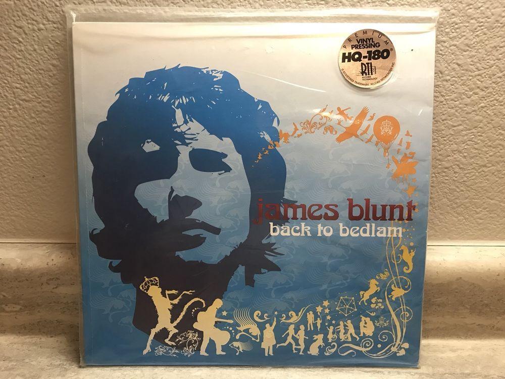 JAMES BLUNT / BACK TO BEDLAM / NM VINYL LP 2006 ORIGINAL