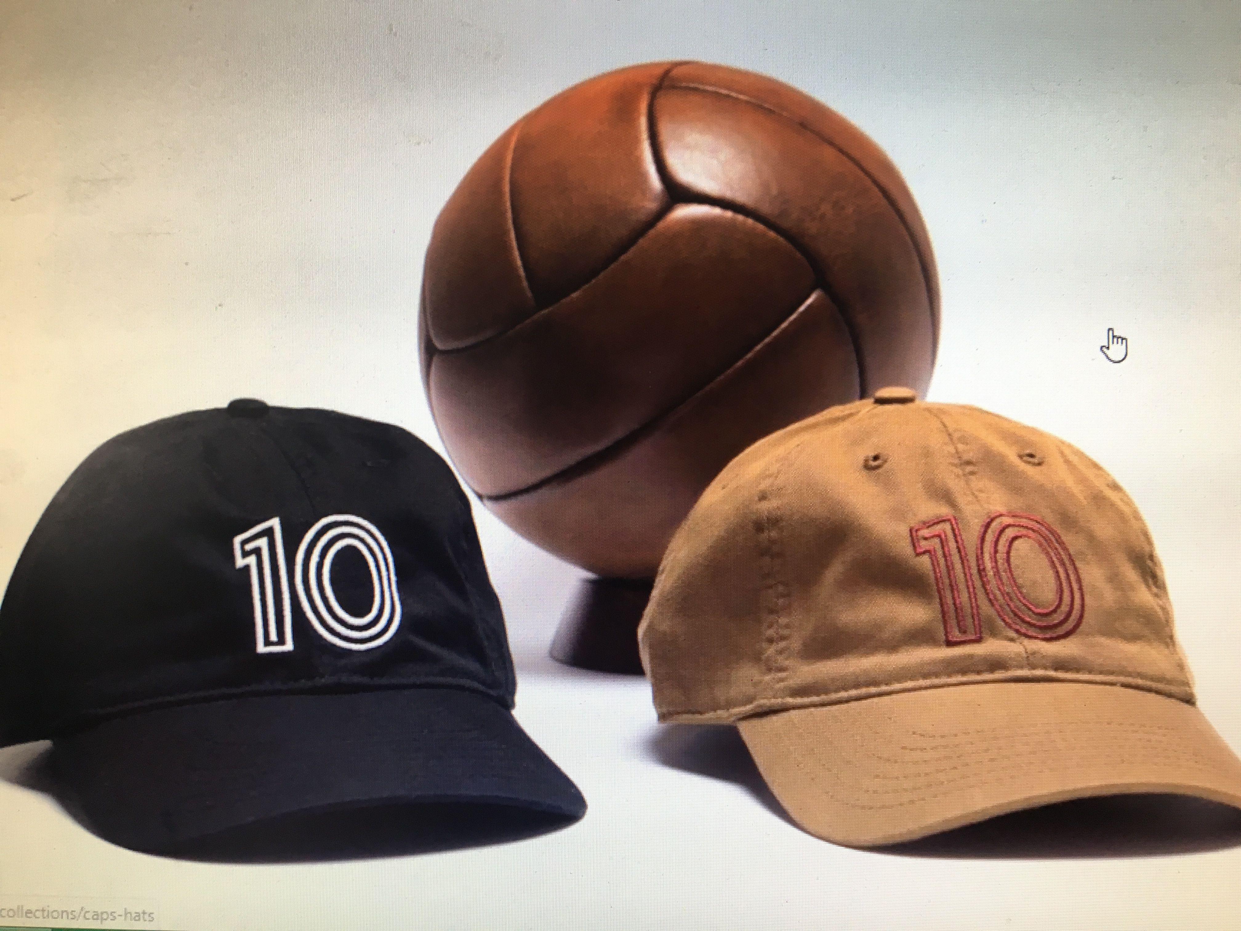 The vintage style 12 panel leather football is a gift any
