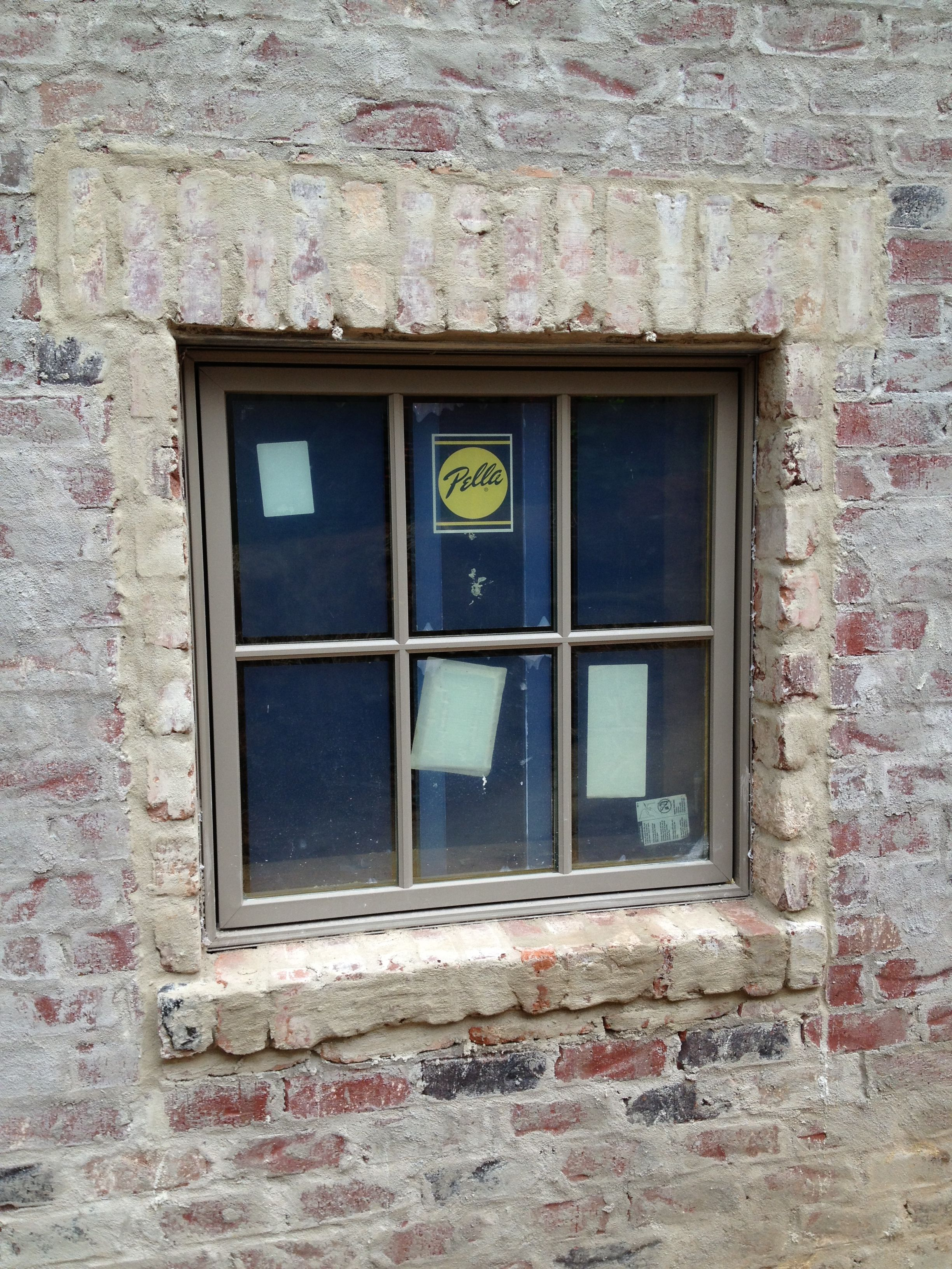 Mortar Wash With New Windows For The Home Pinterest Bricks Brick Detail And House