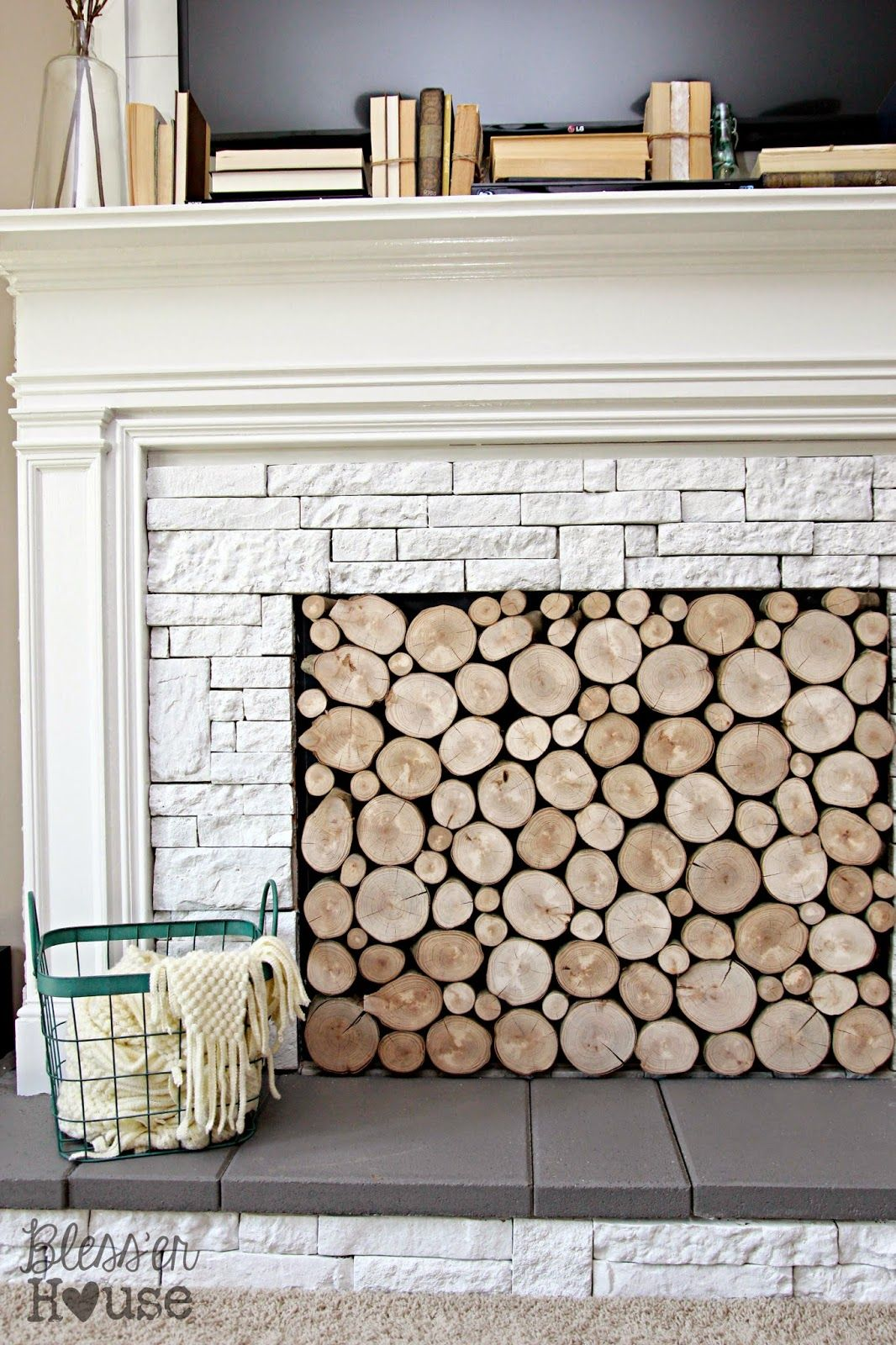 Pin by katie heraty on home pinterest faux fireplace home decor