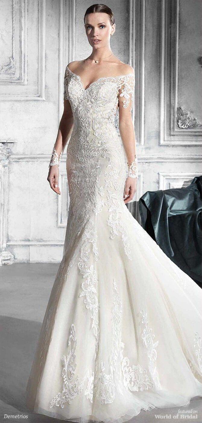 Demetrios wedding dresses wedding dress weddings and lace