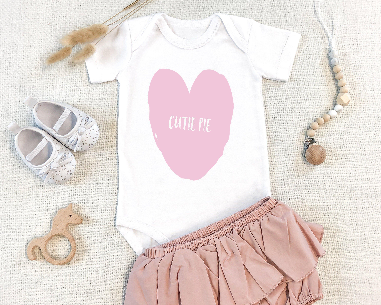 Cutie pie Adorable Baby Onsie Cute Baby Clothes Baby Girl  Etsy