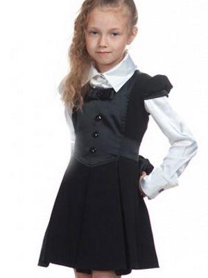 Школьная форма для девочек 2016 и фото моделей модной ...