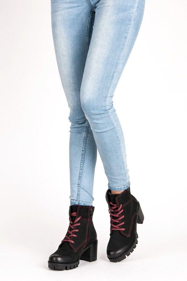 Czarne Workery Z Protektorem Czasnabuty Pl Buty Damskie Meskie I Dzieciece Fashion Skinny Jeans Skinny