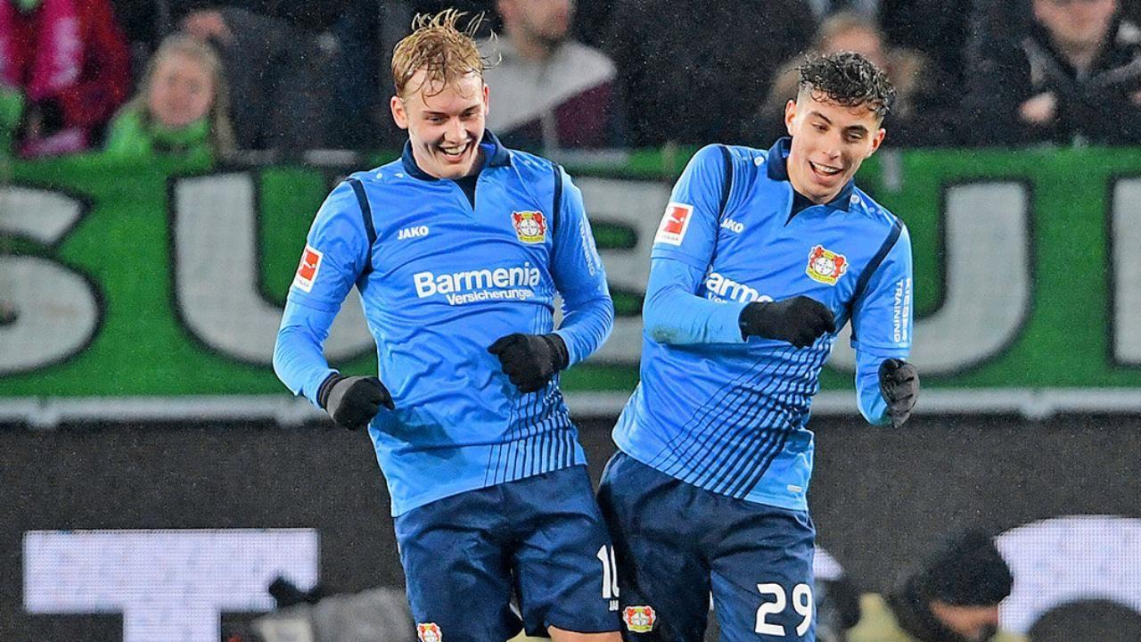 Bayer Leverkusen Kai Havertz Vermisst Julian Brandt Bundesliga Bayer Leverkusen Kai