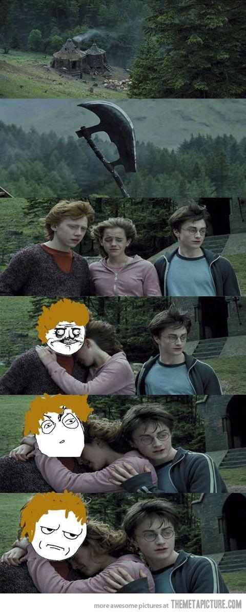 Get lost, Harry…