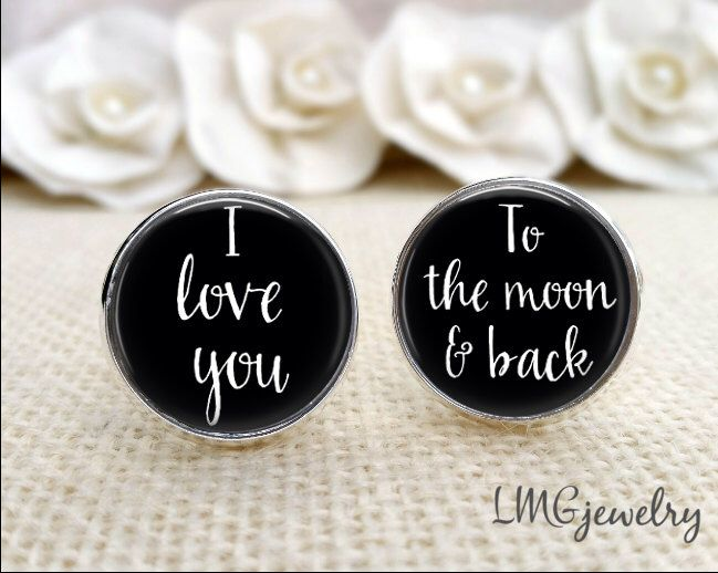 Wedding Cufflinks, Wedding cufflinks for Groom, Custom Groom ...