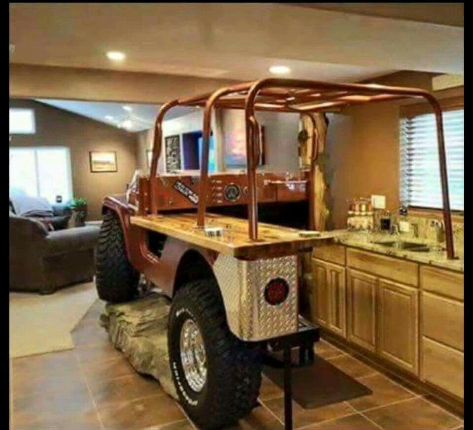 Man Cave Boat Bar : Jeep man cave bar home pinterest men