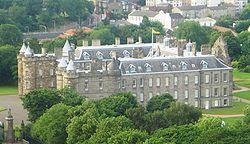 Holyroods palace, Edinburg, Skotland