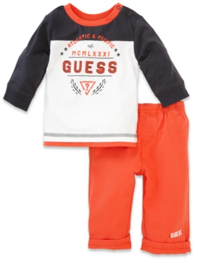 #GUESS?                   #kids                     #GUESS #Baby #Boys' #2-Piece #Shirt #Pants          GUESS Baby Boys' 2-Piece Shirt & Pants Set                                    http://www.snaproduct.com/product.aspx?PID=5544892