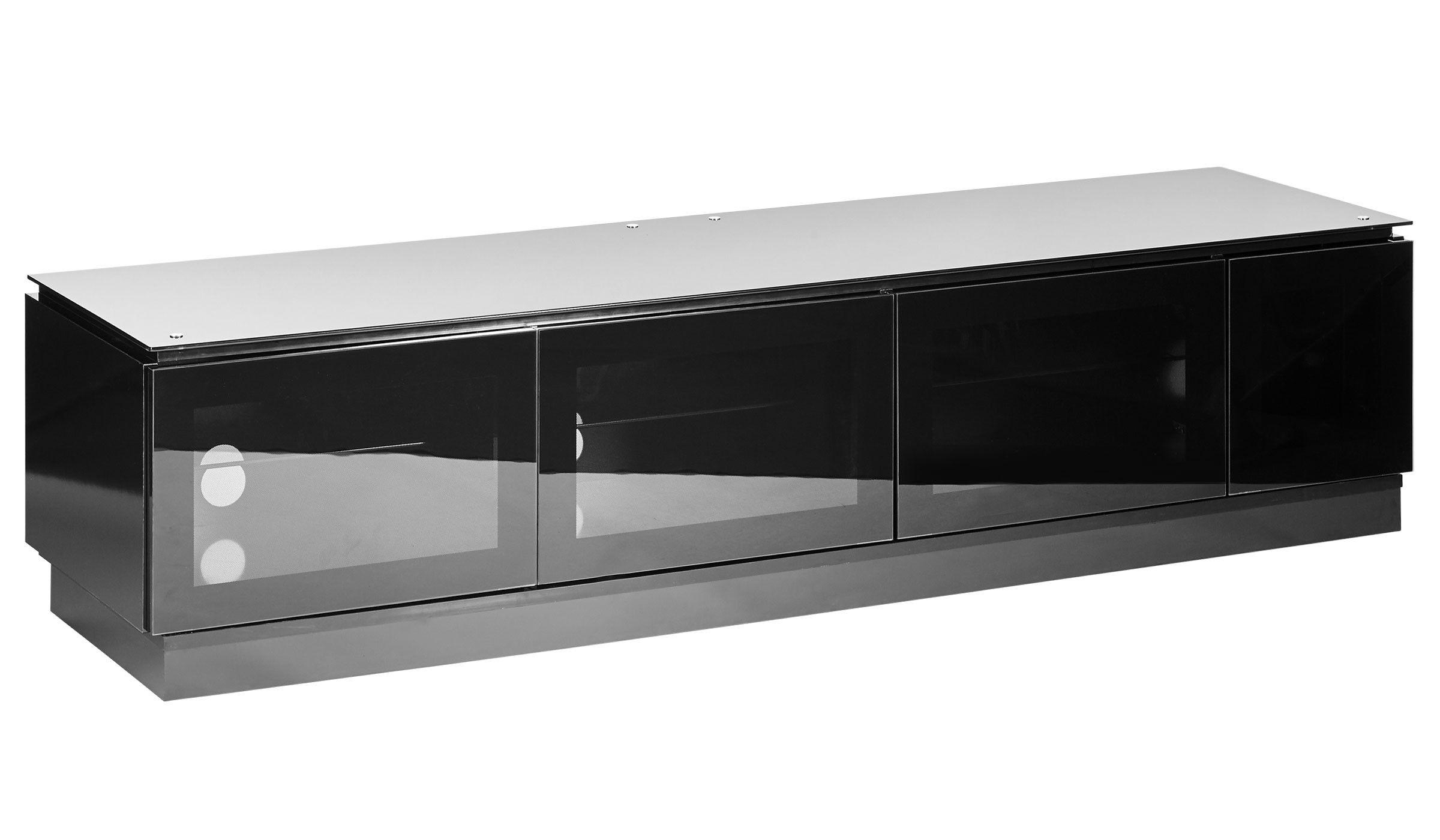 Black Gloss Tv Unit Up To 80 Inch Flat Screen Tv Mmt D1800 Black Gloss Tv Unit Tv Cabinets Black Gloss