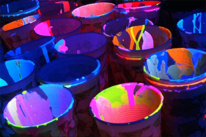 Neon In Yatz S Attic By Junkscientist On Deviantart Paint Party Glow Party Neon Party
