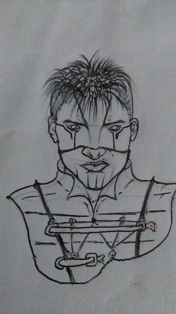 Un chico ciberpunk un tanto despeinado!.. Twitter: @adlmanga_77