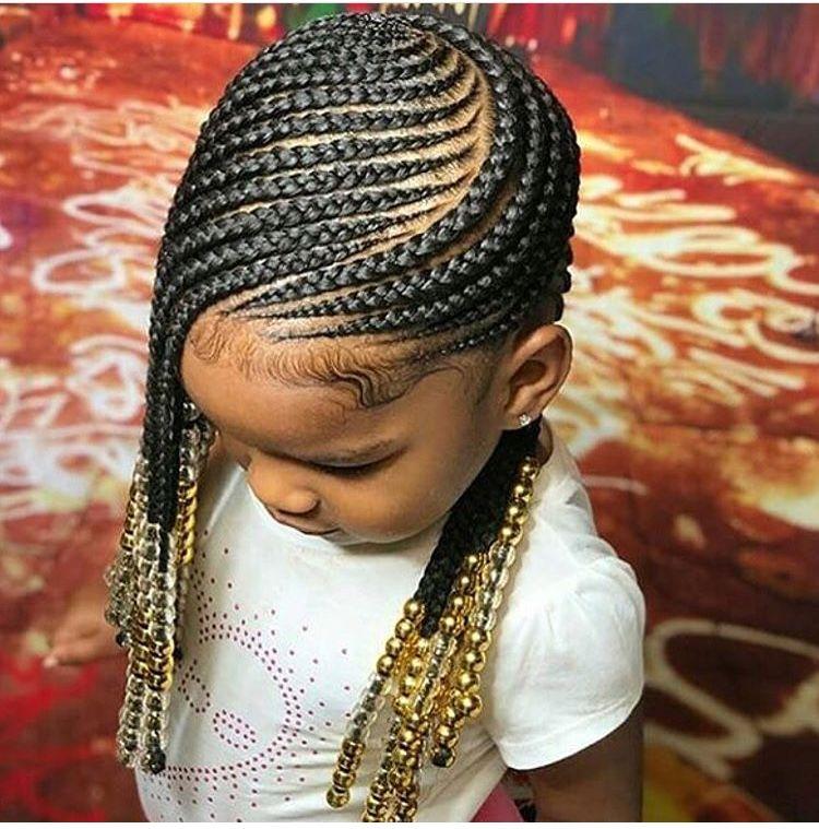 Lemonade braids for the kids! naturalhair
