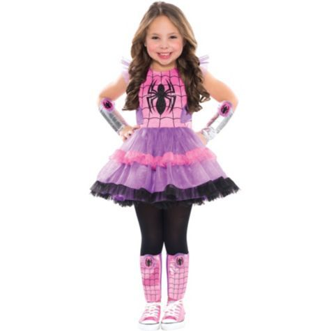 Child Spider-Girl Arm and Leg Warmers Set - Party City  sc 1 st  Pinterest & Child Spider-Girl Arm and Leg Warmers Set - Party City | Halloween ...