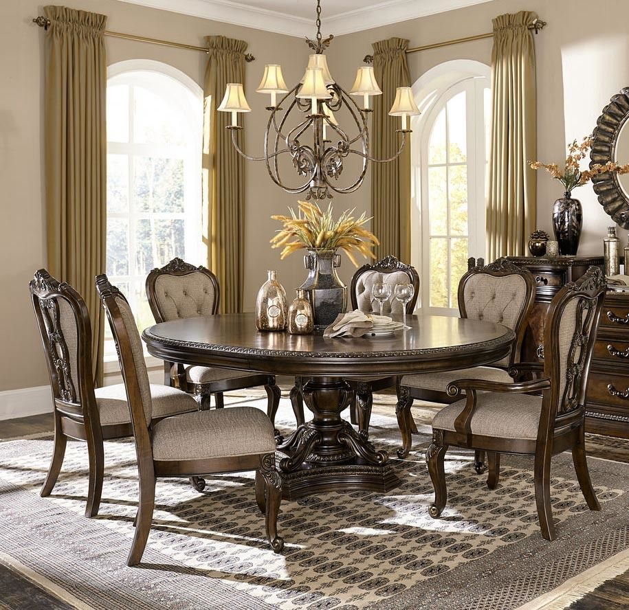 Round Dining Room Tables For 6 8 Https Www Otoseriilan Com Round Dining Room Table Round Dining Table Sets Large Round Dining Table