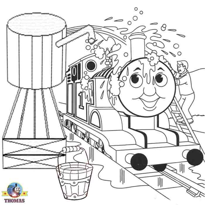 Free online printable Boys drawing worksheets tank engine Thomas