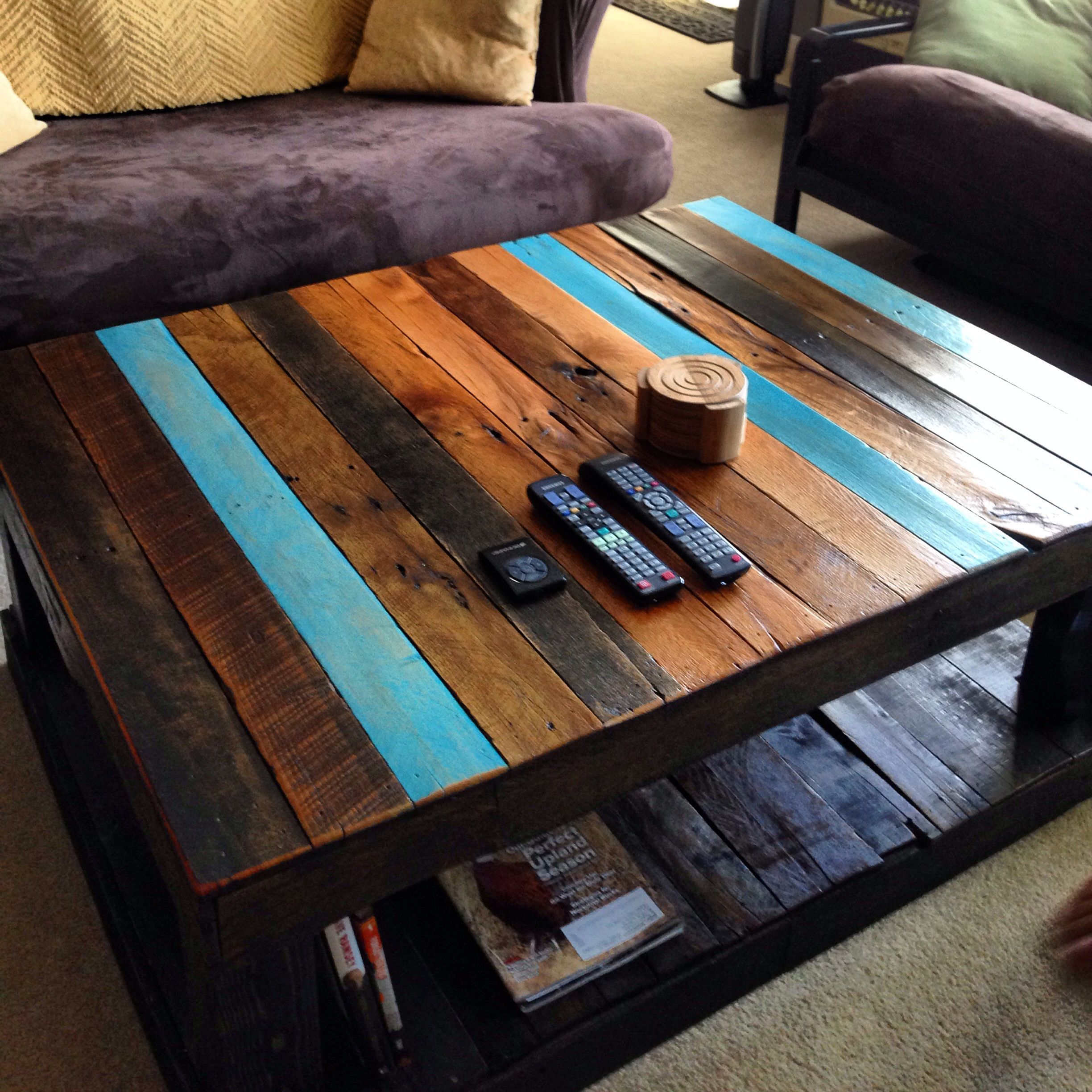Pallet Coffee Table Palletcoffeetables Pallet Projects