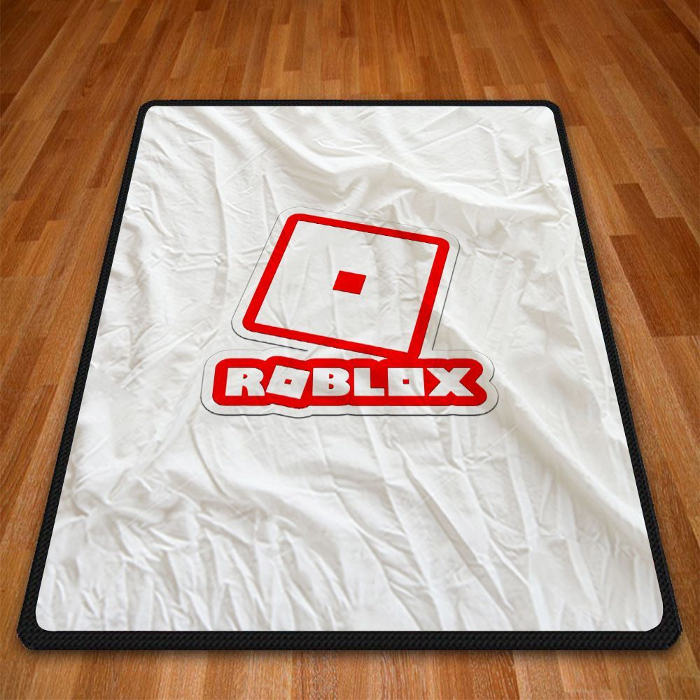Roblox Logo Games Print On Fleece Blanket Special Edition