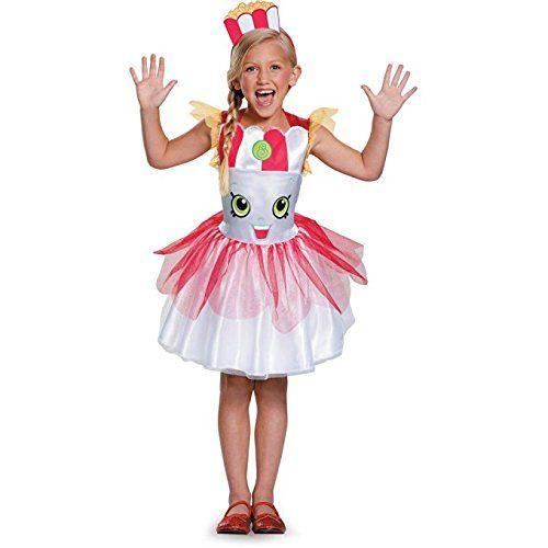 42405634f Shopkins Poppy Corn Classic Child Halloween Dress Up Costume Dress ...