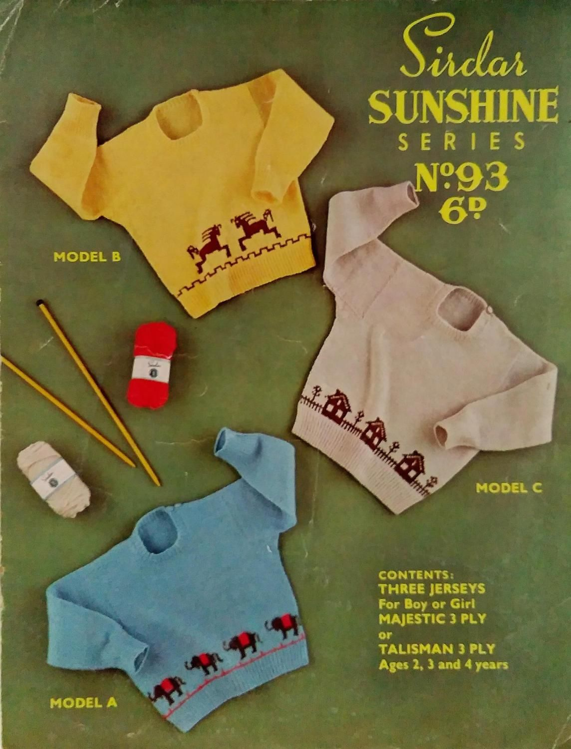Sirdar childrens knitted jumpers 3 designs in 1 pattern sirdar childrens knitted jumpers 3 designs in 1 pattern childrens knitting pattern kids bankloansurffo Image collections
