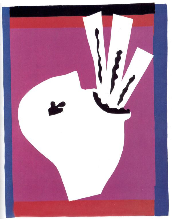 "Henri Matisse, Il mangiatore di spade, dalla raccolta ""Jazz"", 1946-1947"