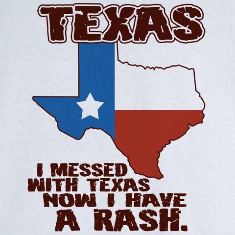 Funny State Pride Texas Novelty T Shirt - Rogue Attire