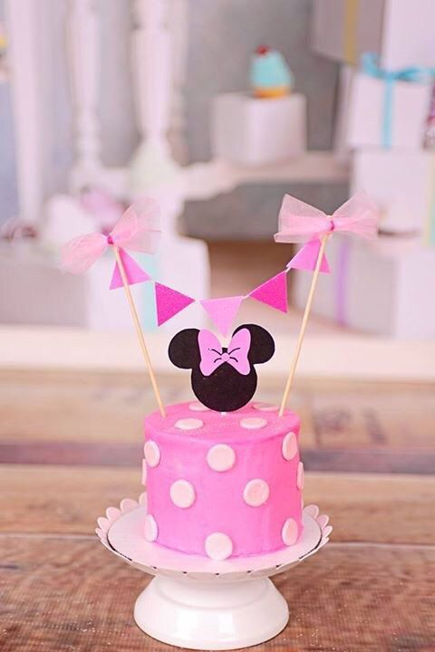 Minnie Mouse Cake Topper Minnie Mouse Cake Topper Diy Cake Topper Happy Birthday Cake Topper