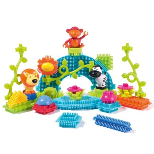 Baril 36 blocs de construction jungle Oxybul pour enfant