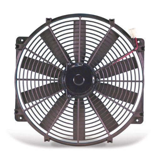 Flex A Lite 116 Black 16 Trimline Fan Reversible When Used As